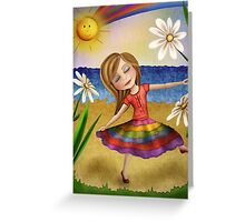 Rainbow Princess Greeting Card