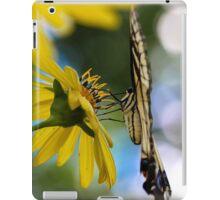 Yellow Swallowtail iPad Case/Skin