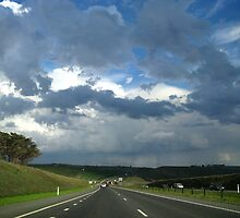 Rain along the Ring Road by ShineArt