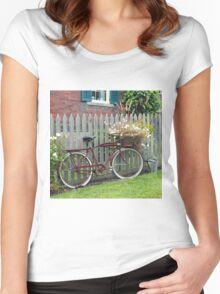 A Rural Ride Women's Fitted Scoop T-Shirt