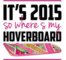 where's my hoverboard marty mcfly? by paintingpanda