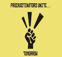 Procrastinators Unite... Tomorrow by yoon2972