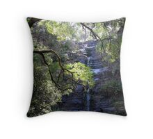Silverband Falls Throw Pillow