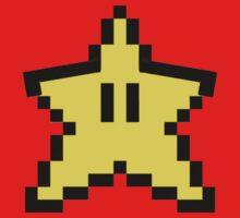 8-Bit Mario Star by yoon2972