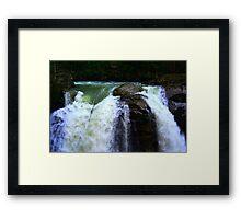 """""""Brink of the Falls"""" Framed Print"""