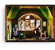 Boxed World Collection - Image 3 - Clockwork Girl Canvas Print