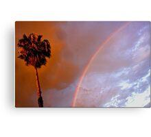 Rainbow Sunset Canvas Print