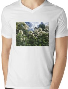 Nemesia flower Mens V-Neck T-Shirt