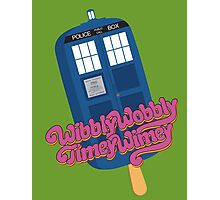 Wibbly Wobbly Timey Wimey Pop Photographic Print