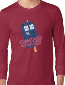 Wibbly Wobbly Timey Wimey Pop Long Sleeve T-Shirt