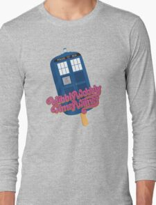 Wibbly Wobbly Timey Wimey Pop Long Sleeve T-Shirt