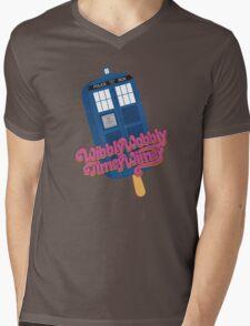 Wibbly Wobbly Timey Wimey Pop Mens V-Neck T-Shirt