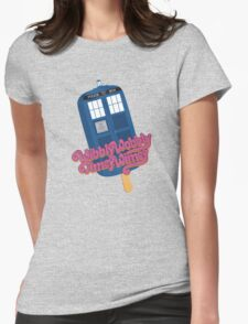 Wibbly Wobbly Timey Wimey Pop Womens Fitted T-Shirt