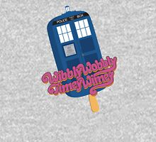 Wibbly Wobbly Timey Wimey Pop Women's Fitted Scoop T-Shirt