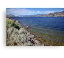 Skaha Lake Canvas Print