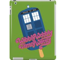 Wibbly Wobbly Timey Wimey Pop iPad Case/Skin
