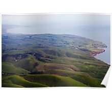 Rolling Hills Of Sellicks Poster