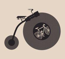 Penny Record Black by modernistdesign