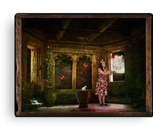 Boxed World Collection - Image 11 - Butterfly Moon Canvas Print