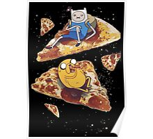 Adventure Pizza Time Poster