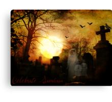 Celebrate Samhain Canvas Print