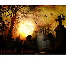 Celebrate Samhain Photographic Print