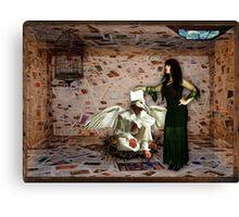 Boxed World Collection - Image 17 - Paper Room Canvas Print