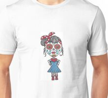 Day of the Dead Rockabilly Girl Unisex T-Shirt