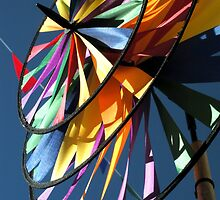 Pinwheel Windmill at the Faire by waddleudo