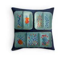 Ceramics Designs Throw Pillow