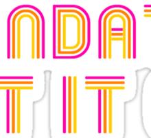 Mandate: Get It On Sticker
