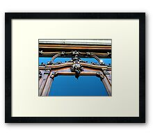 """Facade of Antiques Store"" Framed Print"