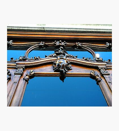 """""""Facade of Antiques Store"""" Photographic Print"""