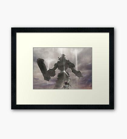 Calm Giant (10 left!) Framed Print