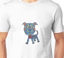 Day of the Dead Pit Bull Unisex T-Shirt