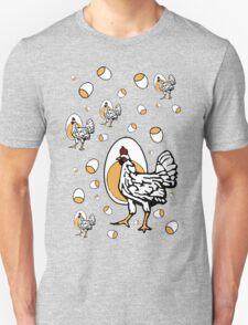 Retro Roseanne Chickens Unisex T-Shirt