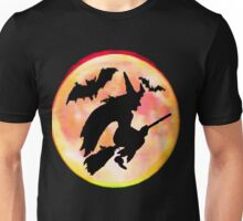 Witch and Bats Tee Unisex T-Shirt