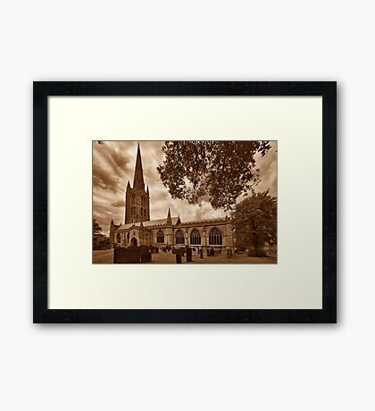 St Wulframs Church, Profile Framed Print