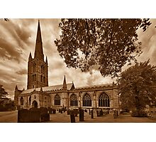 St Wulframs Church, Profile Photographic Print