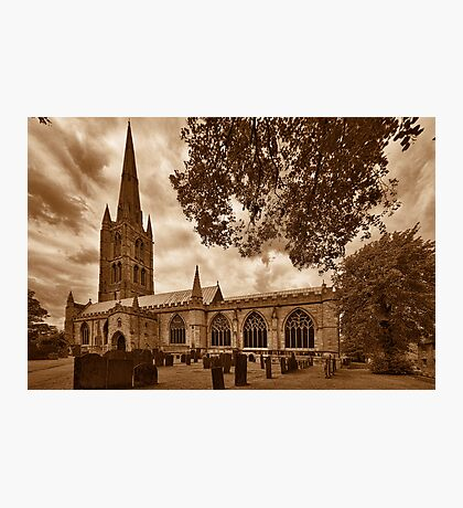 St Wulframs Church, Profile Photographic Print