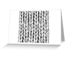 Knitted Greeting Card