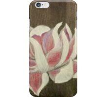 White and Pink Lotus iPhone Case/Skin