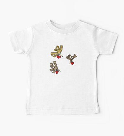Heart Birds Kids Clothes
