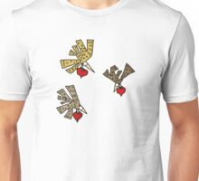 Heart Birds Unisex T-Shirt