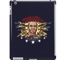 Man On A Rampage iPad Case/Skin