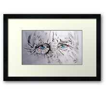 The eyes! Framed Print