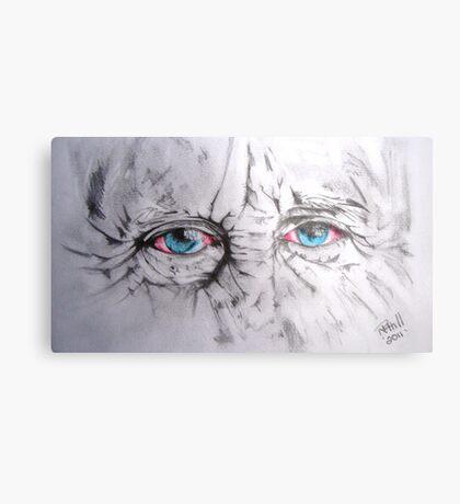 The eyes! Metal Print