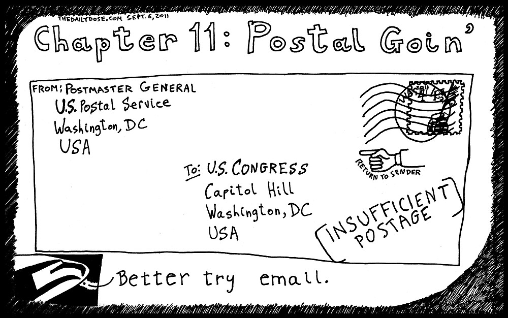 Chapter 11: Postal Goin' by bubbleicious