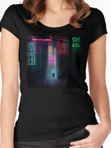 This city Women's Fitted Scoop T-Shirt