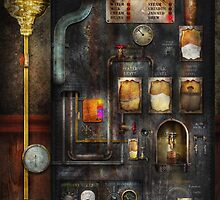 Steampunk - All that for a cup of coffee by Mike  Savad